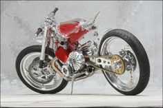 Builder Larry Houghton  Owner Larry Houghton  Location Salisbury  Country UK  Bike Name Cafe Rouge  Year/Model 2008