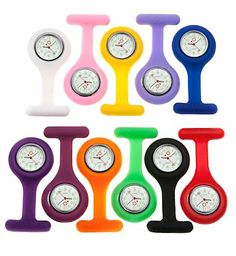 Silicone Nurse Watch , Random Color - http://www.specialdaysgift.com/silicone-nurse-watch-random-color/