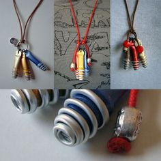 Very cool  Recycled Nespresso Jewelry . We Recycle George !