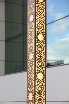 Details of our 'Damask' Aluminum LED Outdoor Lighting -- 'Damask' LED Dış Mekan Aydınlatma Armatürü detayları.