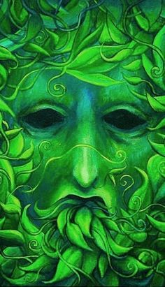 the green man! )0(
