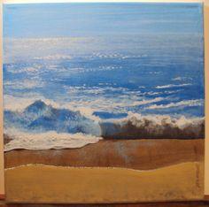 """Acrylic 12""""x12"""" canvas painted for the Ann Arbor Art Show 30x30."""
