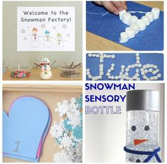 From mittens to snow balls and snowmen, these winter activities are sure to be a hit with your kids!