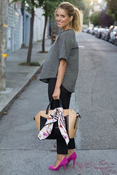 "Love this look. Especially the Kate Spade ""Beau"" bag!"