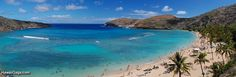 Hanauma Bay. Hawaii is just a paradise. Elvis filmed Blue Hawaii here.