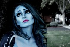 Sephora Selfie Halloween Corpse Bride makeup by Halloween Cosplay, Halloween Make Up, Halloween Costumes, Halloween Inspo, Halloween 2015, Face Paint Makeup, Hair Makeup, Corpse Bride Makeup, Dramatic Makeup