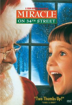 Miracle on 34th Street ... Love both versions, old & new!