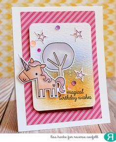 My Little Creative Escape: Color Throwdown 401-Magical Birthday wishes