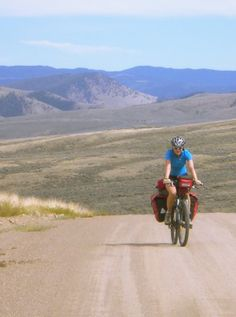 Cycling through the Great Basin, US.
