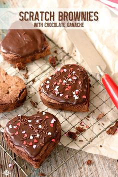 Scratch Brownies - AMAZING homemade brownies are easier than you think!