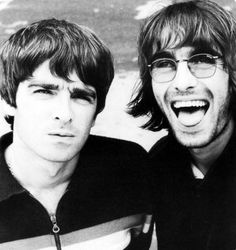 Noel & Liam Gallagher, Select Magazine, No shit, Liam looks like John Lennon. Liam Gallagher Noel Gallagher, Oasis Music, Alan White, Oasis Band, Liam And Noel, Paul Weller, Britpop, My Favorite Music, Cool Bands