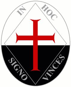 in hoc signo vinces- under this sign you will win. I'm kinda a nerd, but this is gonna be on our Latin Exam tomorrow soooo
