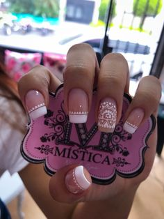 ideas for pedicure decorado frances Stylish Nails, Trendy Nails, Love Nails, My Nails, Engagement Nails, Polka Dot Nails, Glitter Nail Art, Fabulous Nails, White Nails