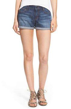Joe's Rolled Hem Denim Shorts (Emmie)