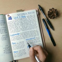 @penpapersoul Bullet Journal: This is my September review but I talked less about what I had done and talked more about what I am going to do, new task or changes.