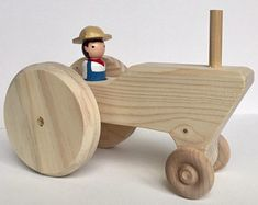 Check Out These Tips About Wooden Toy plans Woodworking is both a valuable trade and an artistic skill. There are many facets to woodworking which is why it is so enjoyable. Wooden Plane, Wooden Toy Cars, Wooden Truck, Wood Toys, Woodworking For Kids, Woodworking Toys, Woodworking Workshop, Pull Along Toys, Handmade Wooden Toys