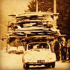 50's #surfcar #beetle