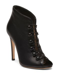 Made+In+Italy+Leather+Stiletto+Booties