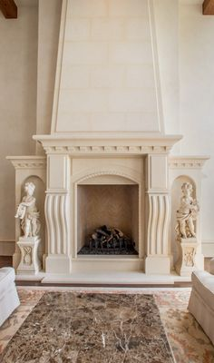 Fireplace mantel designs designs 39 fireplace mantels for Mediterranean fireplace designs