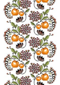 Persikka (orange) - By Tanja Orsjoki