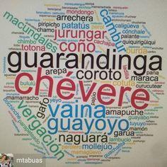 Regrann from @mtabuas - En el día del Idioma, lista de palabras venezolanas seleccionadas por unos cien venezolanos desperdigados por todo el mundo. La propuesta fue del @elcentrodeescritura #santjordi #díadelidioma - #regrann Basement Bar Designs, Wall Signs, Memes, Alicante, Childhood, Collections, The World, Venezuela Flag, Colombia