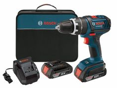 Bosch 18v 2 Speed Lithium-Ion 1/2-Inch Cordless Compact Tough Drill/Driver Kit #Bosch