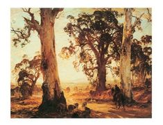 Hans Hysen, a famous australian artist from Hahndorf - i grew up with him, he was a family friend of my grandparents :-)