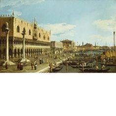 Canaletto (1697 - 1768)  Venice: the Riva degli Schiavoni  Italy  c. 1740 - 1745