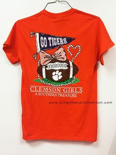 Clemson Tigers Southern Treasure T Shirt | underthecarolinamoon.com #clemson #allin