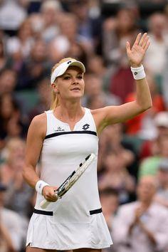 Agnieszka Radwanska on Day4 of the Wimbledon Tennis Championships in London June 27-2013 #WTA #Radwanska #Wimbledon