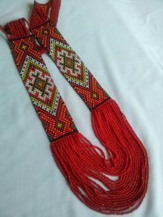 Ethnic bead necklace, beaded jewelry, handmade jewellery, bead necklaces…