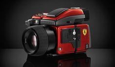 photographers orgasm - hasselblad 'H4D-40' medium format camera in limited 'ferrari edition'
