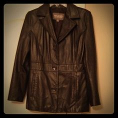 Wilsons leather jacket Woman's leather jacket Wilsons Leather Jackets & Coats