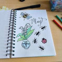 Hello may bullet journal home made