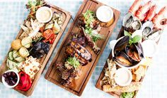 three great platter idea's for a party - trendy eats @ helm bar surfers