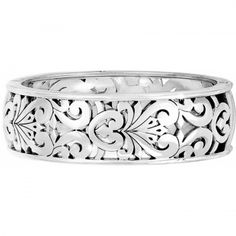 Roccoco Hinged Bangle available at #BrightonCollectibles