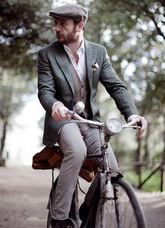 Monsieur à vélo