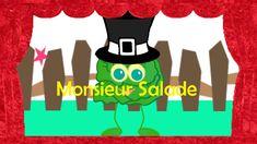 """"""" Monsieur  Salade """"- La chanson de la salade - YouTube Doc Mcstuffins, Rhymes Songs, Salad"""