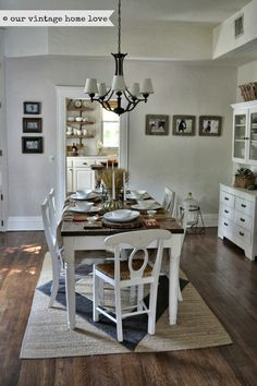 our vintage home love: Fall Table Ideas