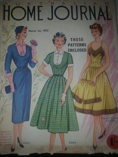 Australian home journal March 1955 cover