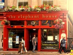 """The Elephant House  """"Birthplace of Harry Potter"""""""