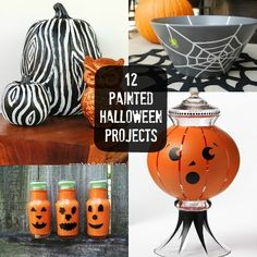 12 Halloween Craft Projects That Use Paint