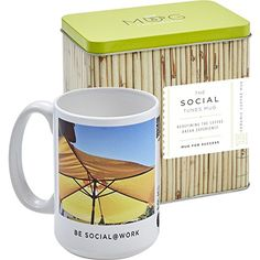 The Social Tunes Mug  Art and music inspired by Feng Shui special and unique gift to yourself family friends and colleagues  special deals in Amazon Business ** Details can be found by clicking on the image.