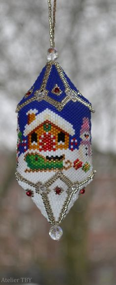 Pattern: Thread A Bead