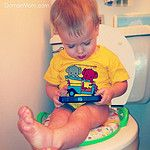 5 Things You Can Do with Your BABY to Make it Easier to Potty Train Them Later | DomanMom.com