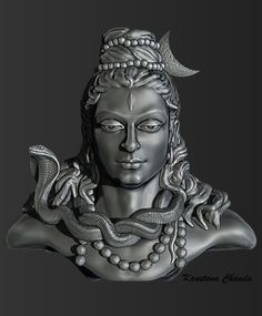 Lord shiva (3D design)