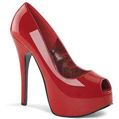 141a22a3ec8 Stripper Shoes, Stiletto Pumps, Stilettos, Red Pump Shoes, Red Pumps, Patent
