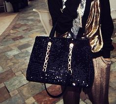 Shiny Sparking Shoulder Bag Handbag