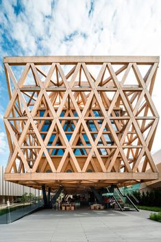 Undurraga Devés Arquitects designed a fully-structural framework for Chilean Pavilion - Expo Milano