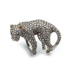 Moonlight Panther Ring